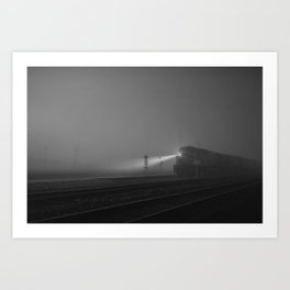 The Houston Express Art Print