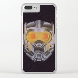 Star Lord Helmet Clear iPhone Case