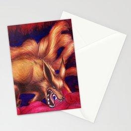 Kurama - Nine Tailed Fox Stationery Cards