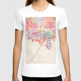 Enterprise map Nevada painting T-shirt