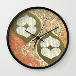 Love knot #1 Wall Clock