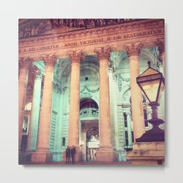 Exchanging Pleasantries  Metal Print