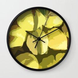 Autumn quinces Wall Clock
