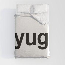 YUGO Hashtag Duvet Cover