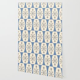 Mid Century Modern Atomic Fusion Pattern 105 Wallpaper
