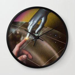 Keep In Touch Wall Clock