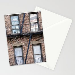 New York Fire Escape Stationery Cards
