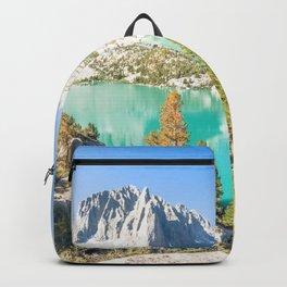Big Pine Lake #2 Eastern Sierra Nevada Mountain Lake Backpack