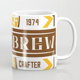 D20 Home Brew Content Creator Beer Label Coffee Mug