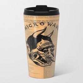 microwave Metal Travel Mug