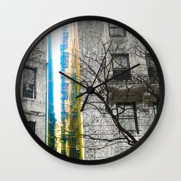 Inbetween Wall Clock