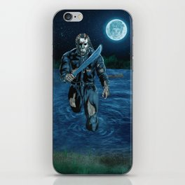 Hockey Masked Killer iPhone Skin