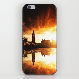 london reflections iPhone Skin
