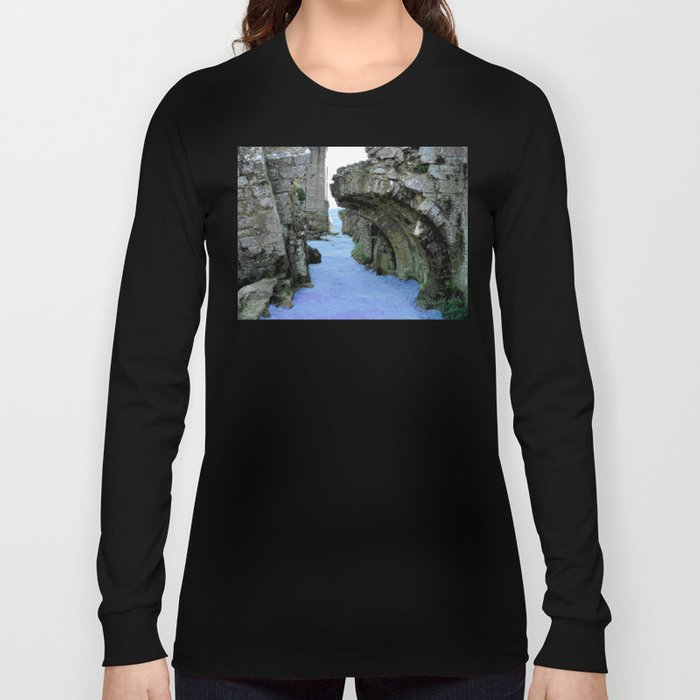 Then the sea crept in... Long Sleeve T-shirt