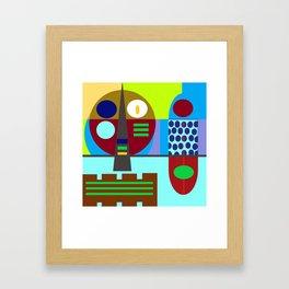 Kraut pop Framed Art Print