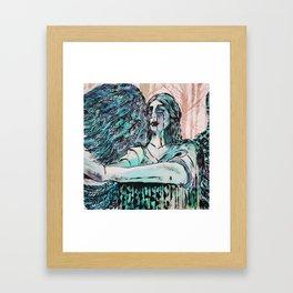 Haserot Angel Framed Art Print