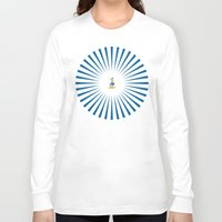 donald duck Long Sleeve T-shirts featuring Donald - The Duck by applerture