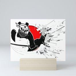 Eastern martial art from kung fu panda. Mini Art Print