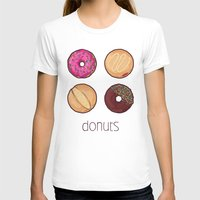 donuts T-shirts featuring Donuts by Monstruonauta