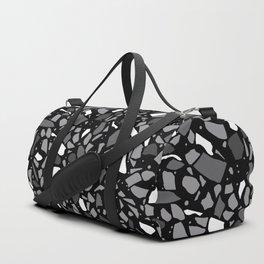 Terrazzo Spot Black 2 Duffle Bag