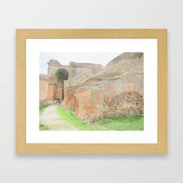 Ostia Antiqua Theatre - Italy Framed Art Print