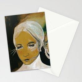 you and i and us (sen, ben, ve biz) Stationery Cards