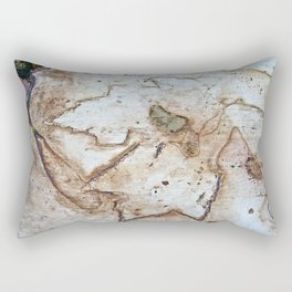 Maple Leaf Etching Rectangular Pillow