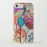 floyd iPhone & iPod Cases featuring Pink floyd by Koojoo.ink