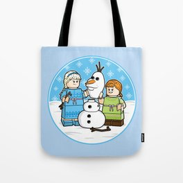 Want to Build a Snowman? Tote Bag