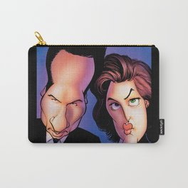 Files, Scully, Mulder,  Carry-All Pouch