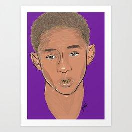 Jaden Smith Art Print