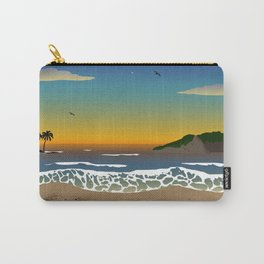 Sunset over the Ocean Carry-All Pouch
