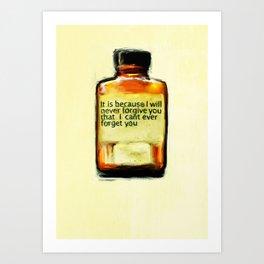 Ongoing Medication Art Print