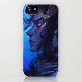 Deep Sea Mermaid iPhone Case