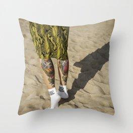 Sandstorm Throw Pillow