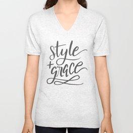 Style & Grace Unisex V-Neck