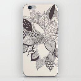 zenTANGLE Plant iPhone Skin