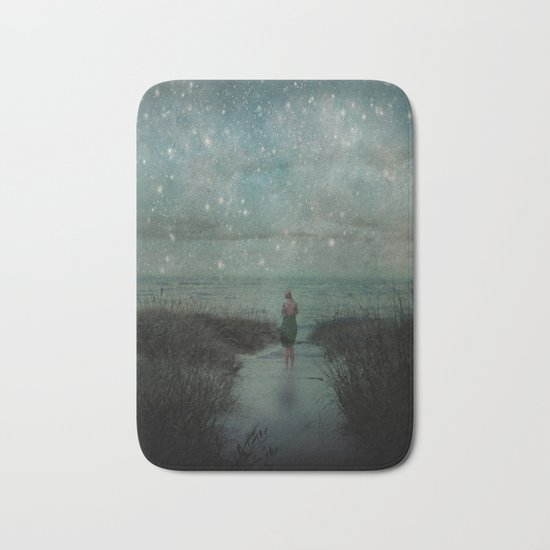 Stars in the Night Sky Bath Mat