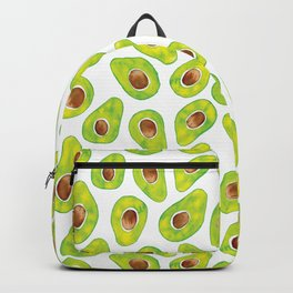 Watercolour Avocados Backpack