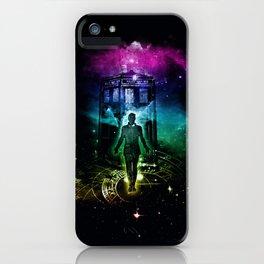 time traveller v2 iPhone Case