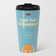 Curb Your Enthusiasm - Hbo tv Show with Larry David - Poster Travel Mug