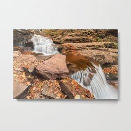 Delahican Falls Metal Print