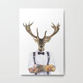 DIEGO WILD Metal Print