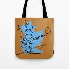BLUE DEVIL Tote Bag