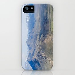 The Kiss of Winter Still Lingering on the Lips iPhone Case