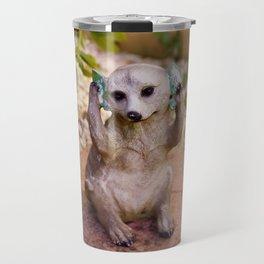 Meerkat.. Travel Mug