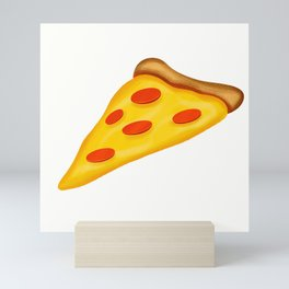Pepperoni Pizza Mini Art Print