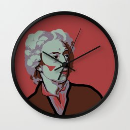 Alexander Pope Wall Clock