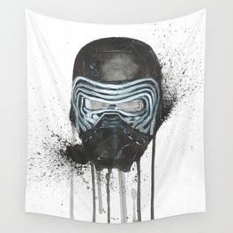 Kylo Ren - Empty Mask Wall Tapestry