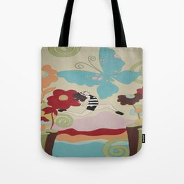 Leap of Faith - painting - Wild Veda Tote Bag